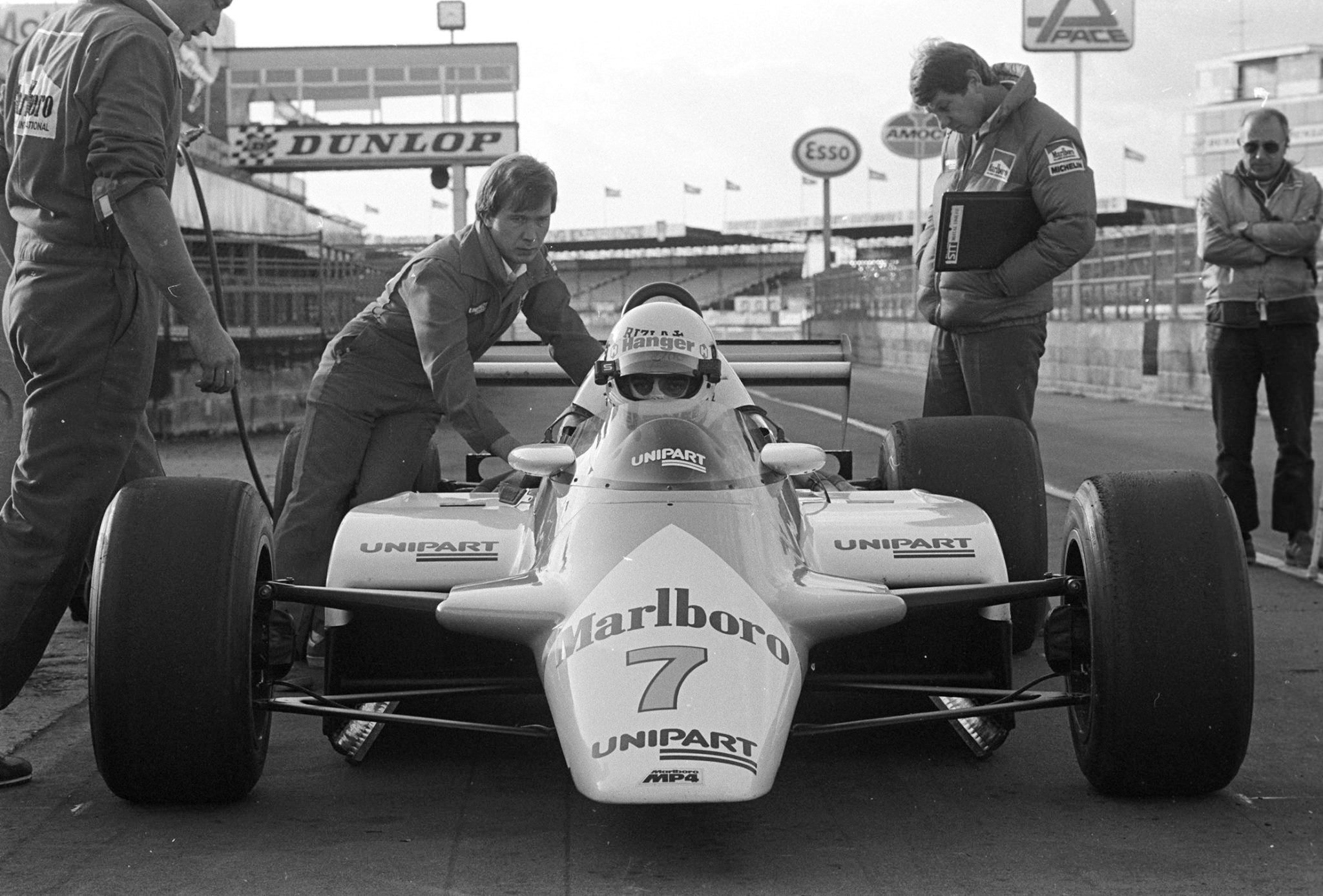 1982 Byrne Mclaren Test shot 2