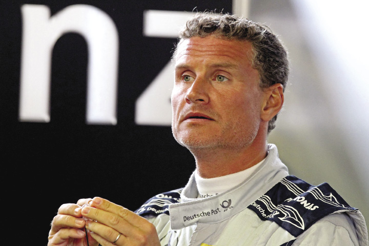 David Coulthard Photo by LAT Photographic